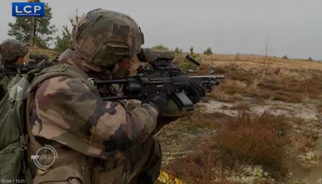 Des soldats français dans la Baltique Map210