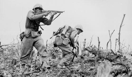 1er avril 1945 La Bataille d'Okinawa Okinaw10