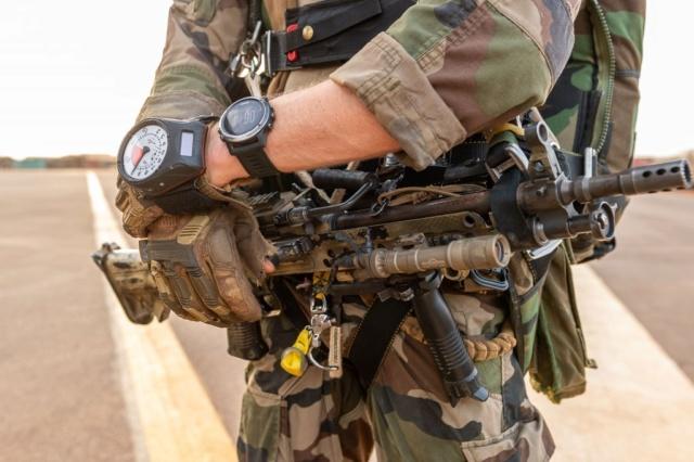 Un Commando Parachutiste au 17ème RGP Rgp110