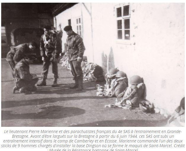 Un Historique du 2° RCP. Les SAS Sas210