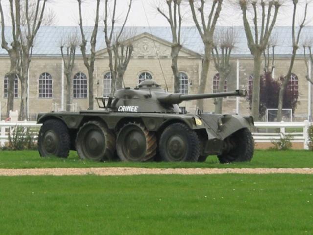 l'EBR, un véhicule à 8 roues ! Saumur11