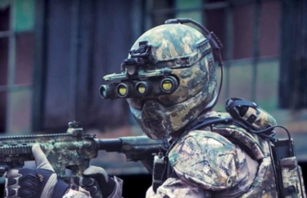 Pas de Robocop dans l'armée française…  Soldat14