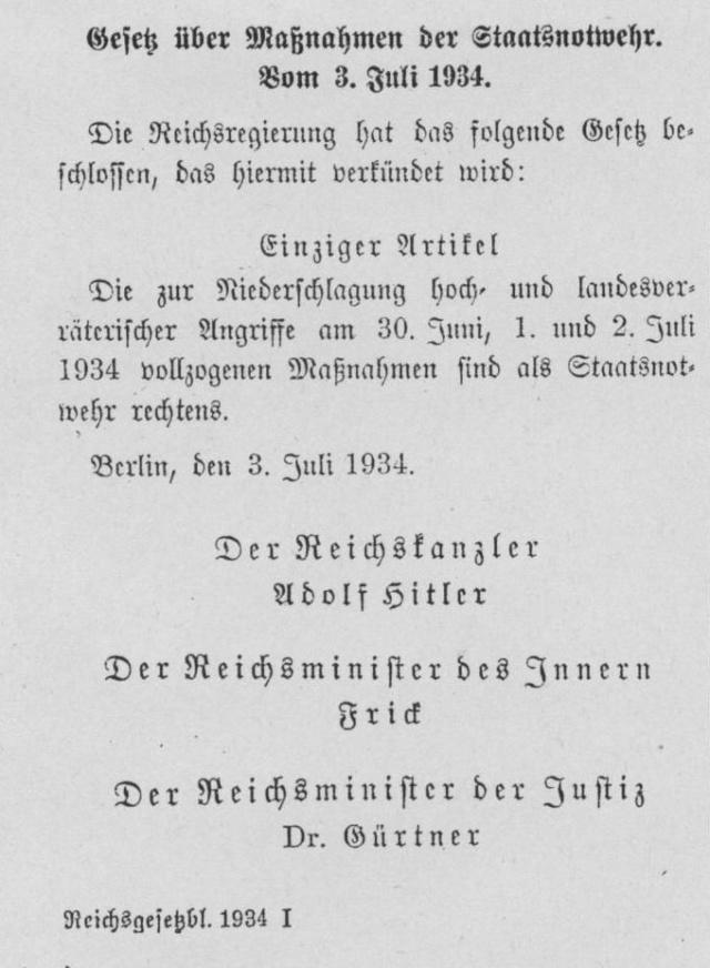 Cette nuit là... du 29 au 20 juin 1934 Staats10