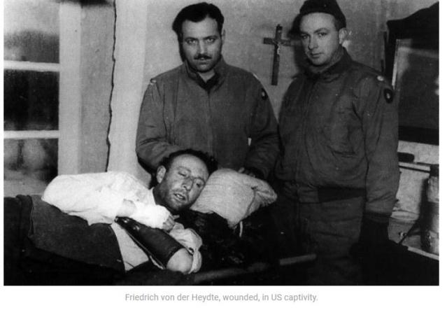 Bataille des Ardennes:«La Wehrmacht n'avait pas la moindre chance», selon Rick Atkinson Von_de10