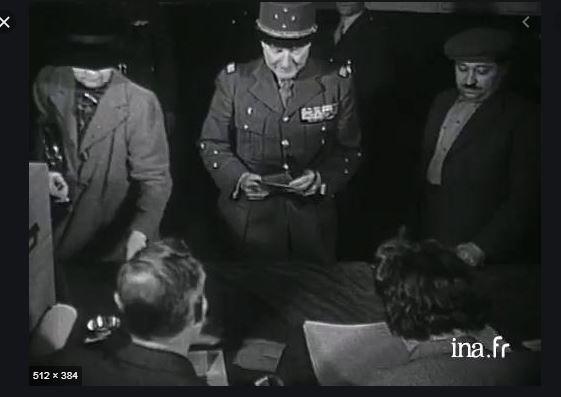 Ce jour-là : 17 août 1945 : La « Grande Muette » vote ! Vote10
