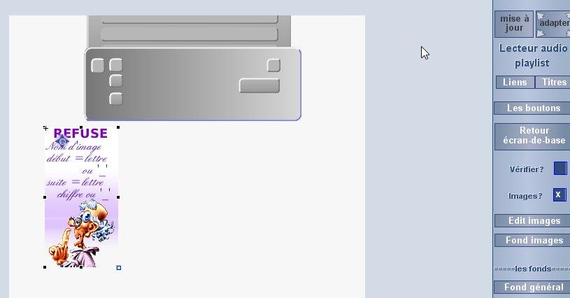 lecteur audio playlist Screen80