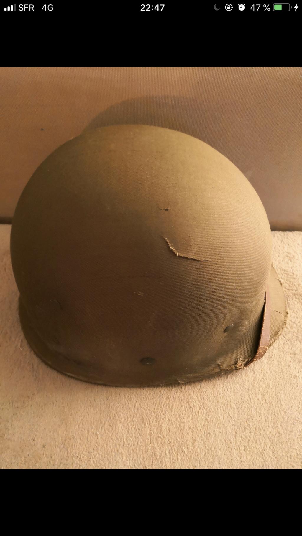 Casque us avec dossier complet antécédent soldat. C589e410