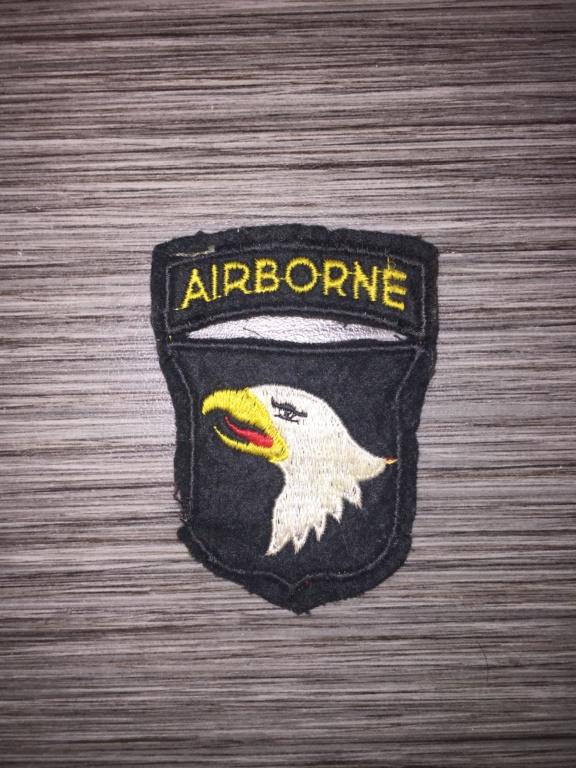 Avis insigne 101 airborne C6831310