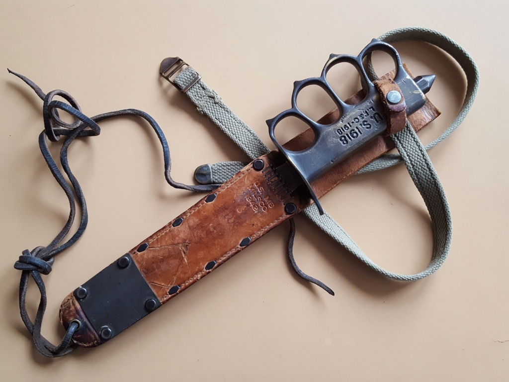 Estimation trench knife 1918  D36c8710