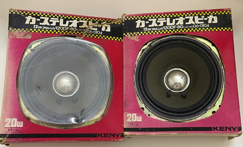 Technica Keny Made in Japan 120mm 4 Ohm speakers (sold) 140