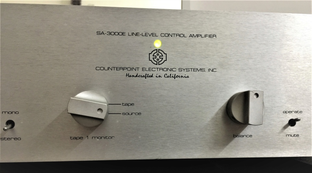 Counterpoint SA-3000 Pre Amplifier  1a15