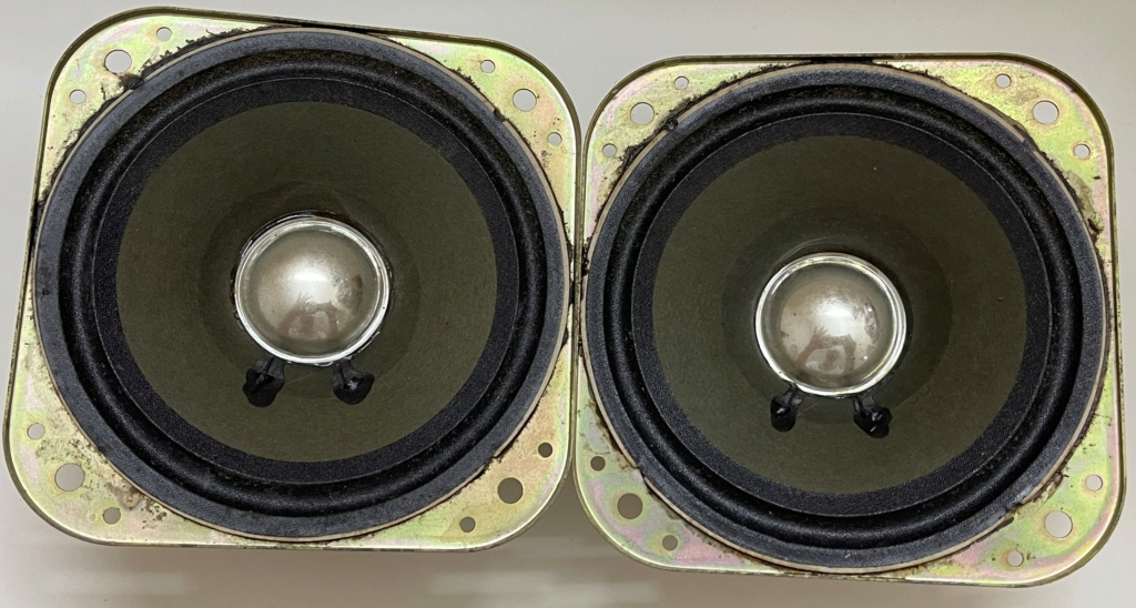 Technica Keny Made in Japan 120mm 4 Ohm speakers (sold) 336