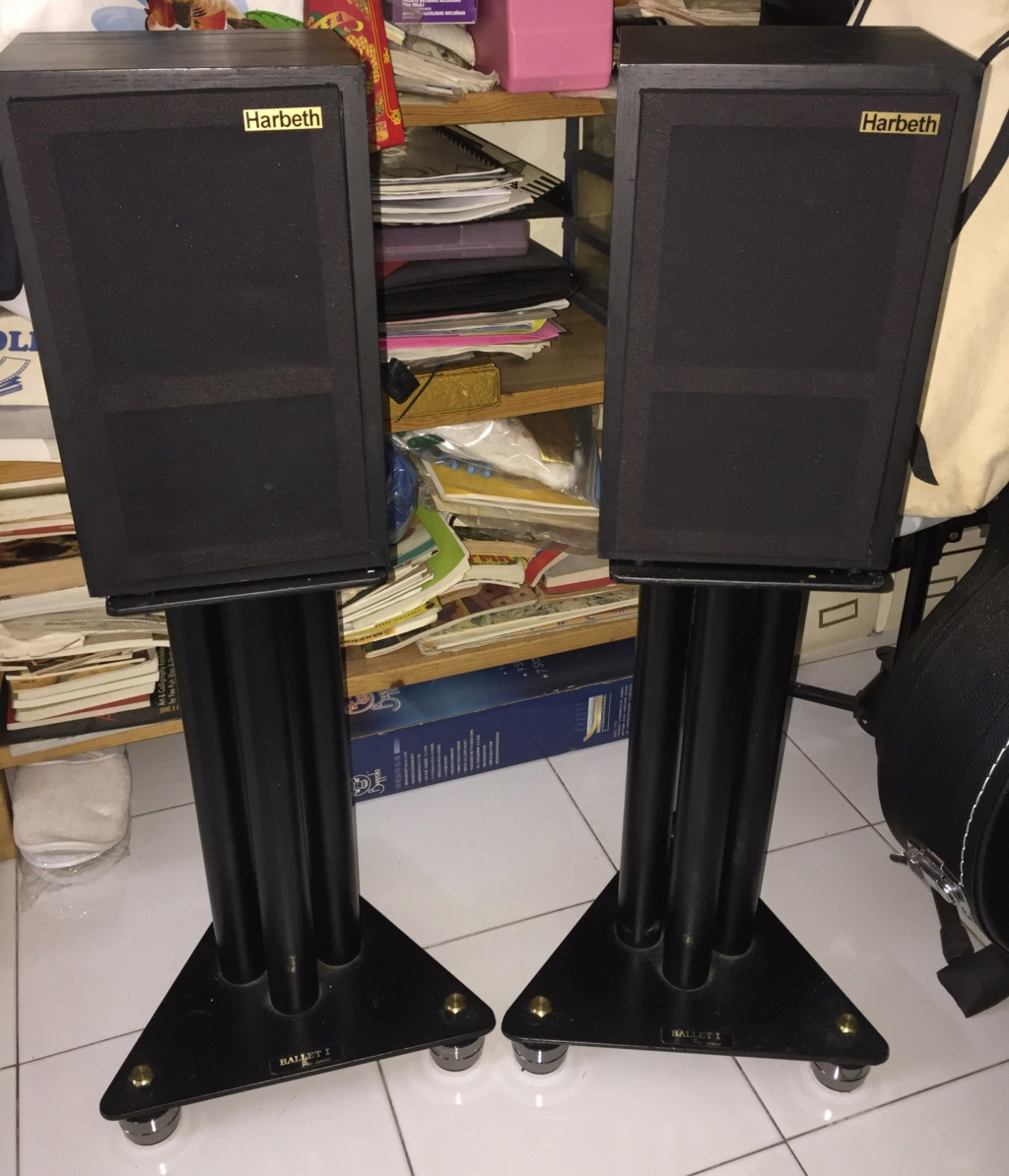 Speaker stands -Ballet 1 Pro series -18inch  (sold) 415