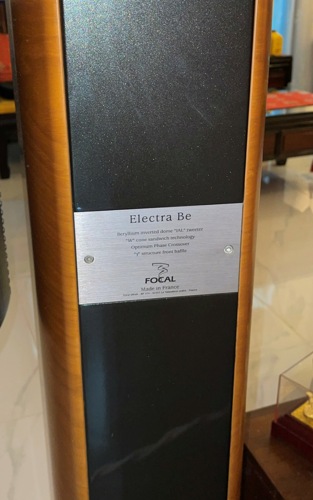 Focal 1027BE floor stand speaker – Made in France (Sold) 422