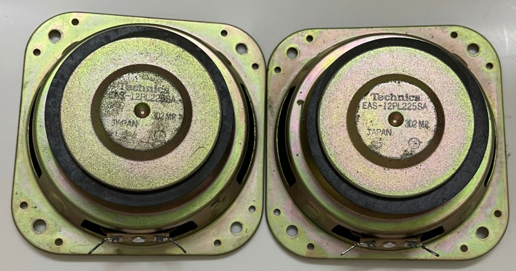 Technica Keny Made in Japan 120mm 4 Ohm speakers (sold) 423