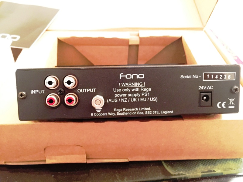 REGA  fono MM, MC and Neo TTPSU 4mm10