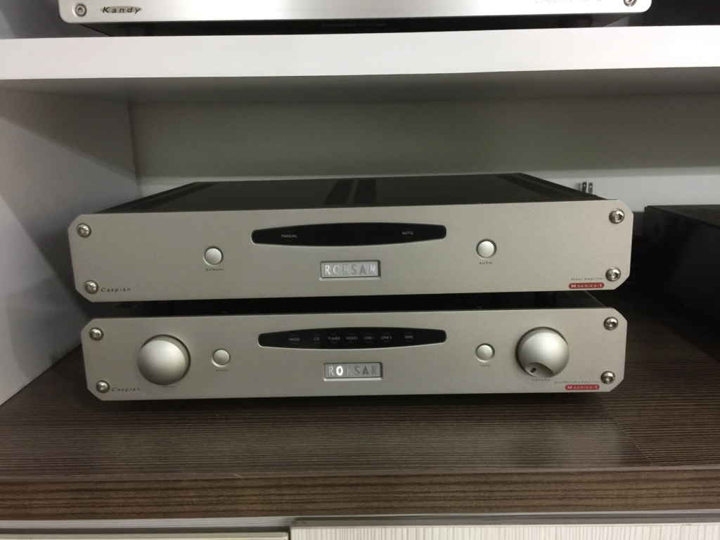 Roksan Caspian M Series-1 Pre and Power Amplifier(sold)  Img_6419