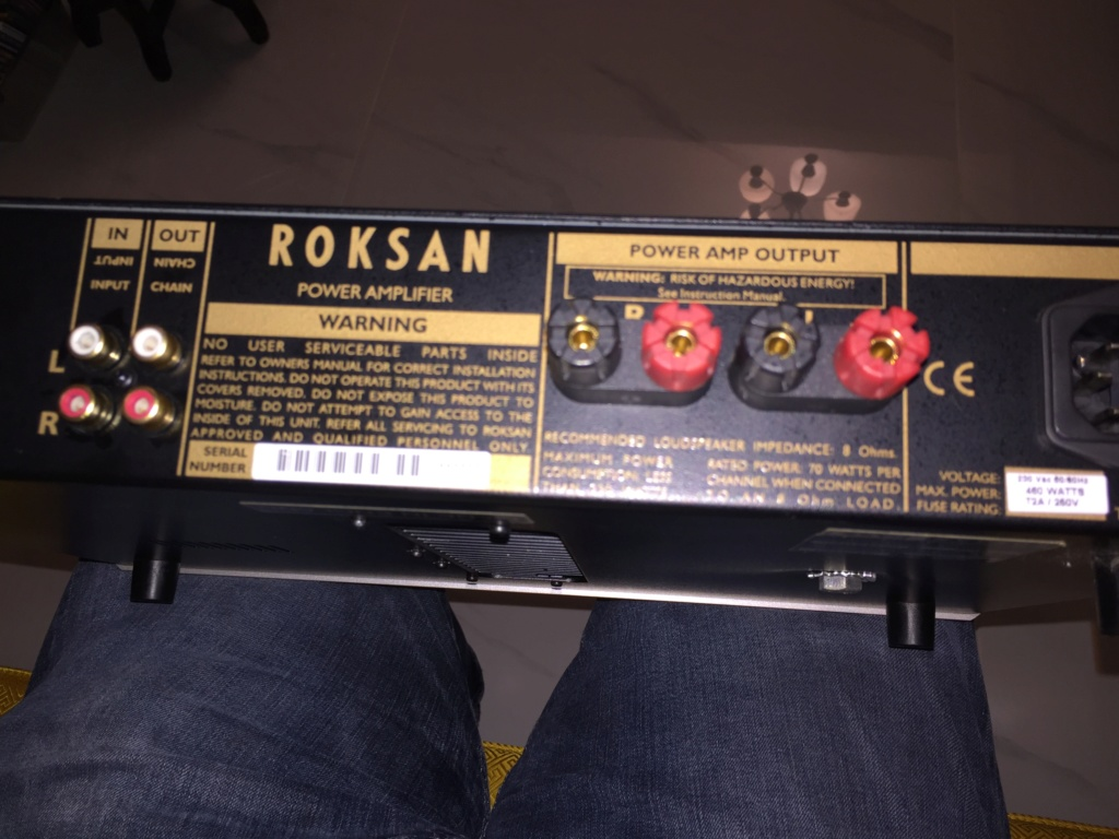 Roksan Caspian M Series-1 Pre and Power Amplifier(sold)  Img_6721