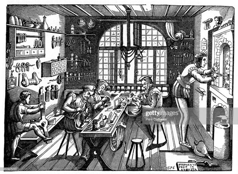 Un atelier à la Renaissance Gettyi10