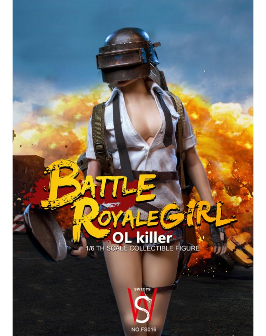OLKiller - NEW PRODUCT: Swtoys 1/6 Scale Battle Royale OL Killer 011