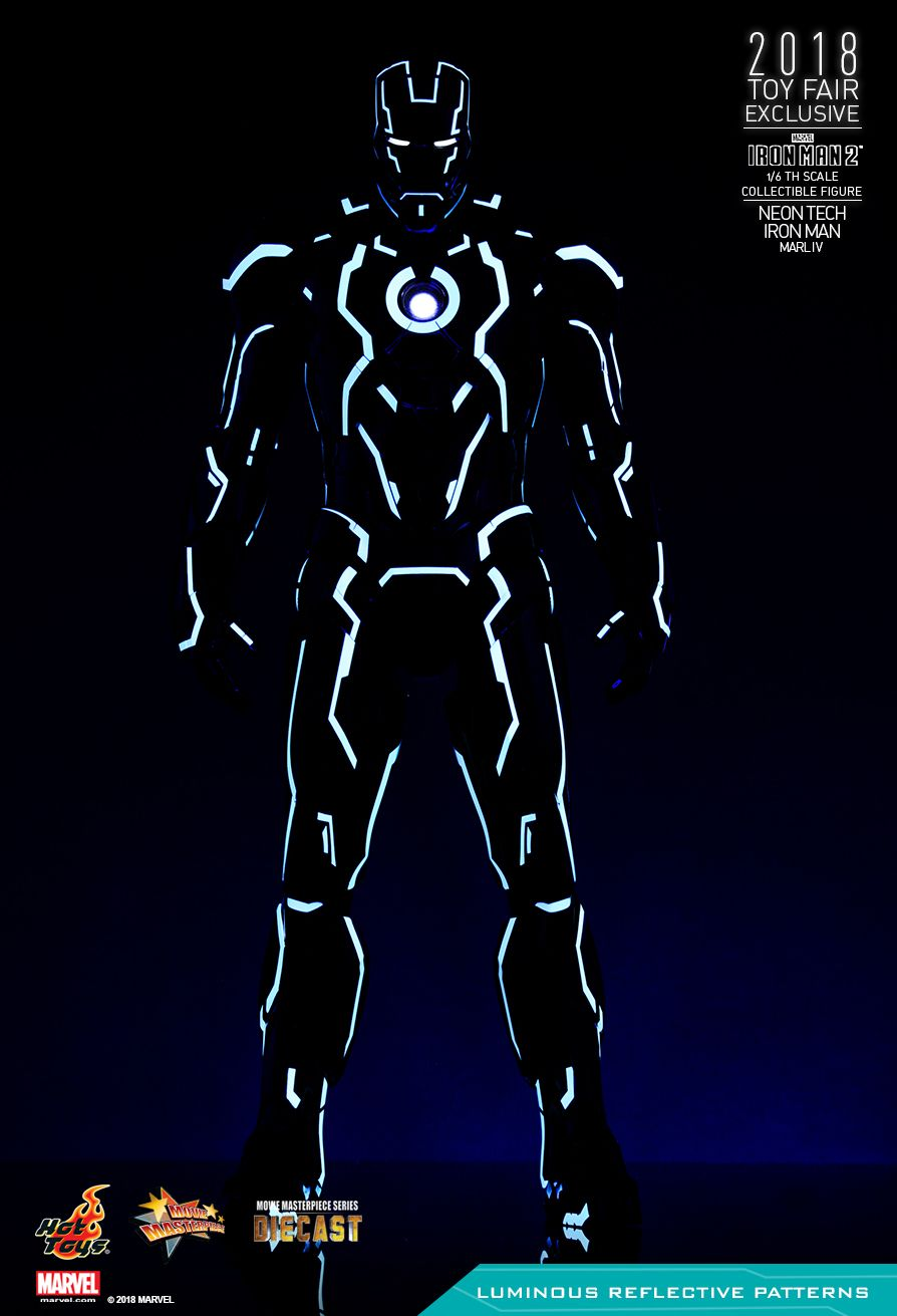 IronMan - NEW PRODUCT: IRON MAN 2 NEON TECH IRON MAN MARK IV 1/6TH SCALE COLLECTIBLE FIGURE 1026