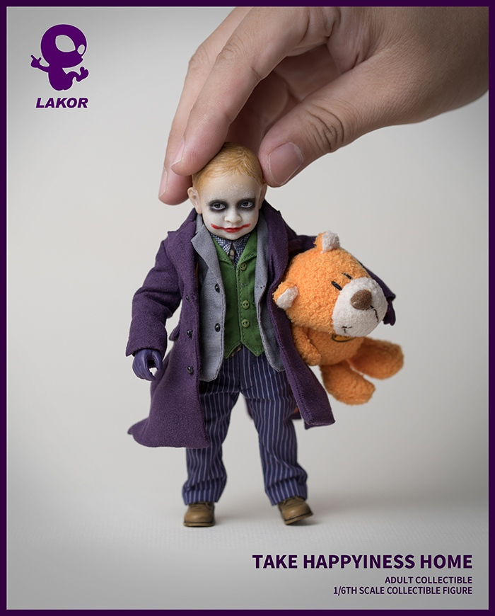 Joker - NEW PRODUCT: Lakor Baby: 1 / 6th scale Take Happiness Home - JOKER Baby 2.0 Collectible Figure 1032