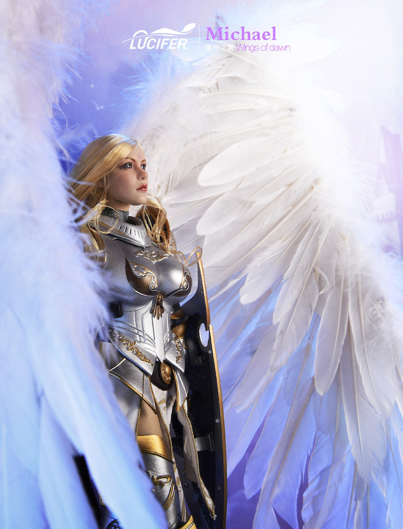 NEW PRODUCT: Lucifer Wings of Dawn Swordsman Version [LXF-1703S] & Big Angels Version [LXF-1703B] 1:6 Figure 1043
