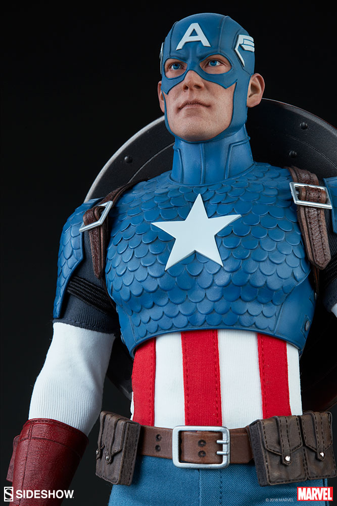 captainamerica - NEW PRODUCT: SIDESHOW COLLECTIBLES: CAPTAIN AMERICA 1/6 SCALE FIGURE 1058