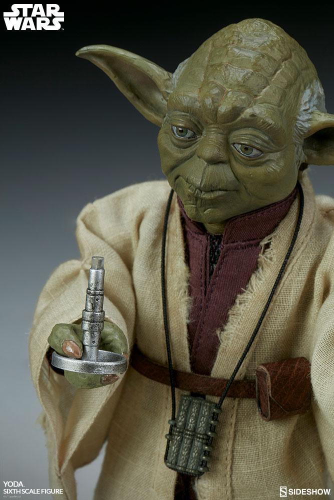 esb - NEW PRODUCT: SIDESHOW COLLECTIBLES: THE EMPIRE STRIKES BACK YODA 1/6 SCALE FIGURE 1078
