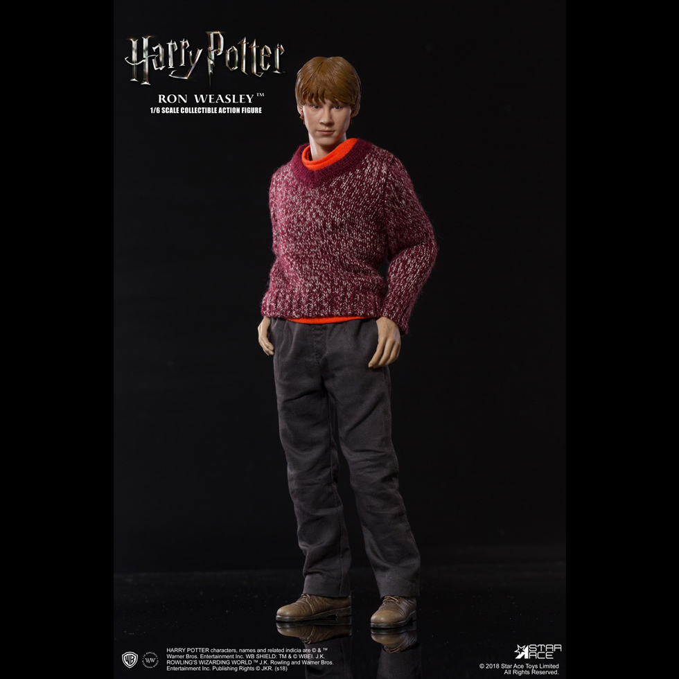 harrypotter - NEW PRODUCT: Star Ace 1/6 Harry Potter Ron Weasley Teenage Version Figure (SA-0059) 1082