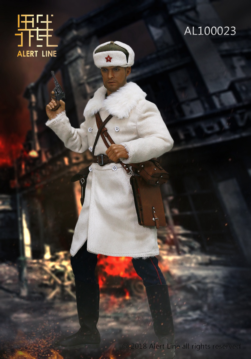 Soviet - NEW PRODUCT: Alert Line boundary play mode: 1/6 World War II 1942 - Soviet Red Army infantry lieutenant officer set (AL100023#) 11102