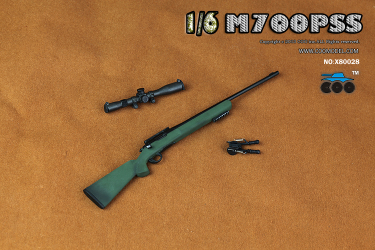 CooModel - NEW PRODUCT:  COOMODEL: 1/6 M700PSS Sniper Rifle X2 & PSG1 Sniper Rifle 11104