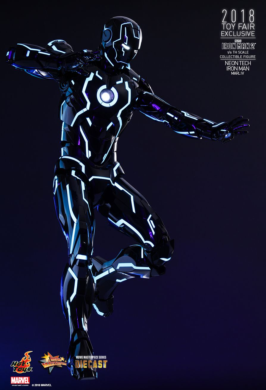 IronMan - NEW PRODUCT: IRON MAN 2 NEON TECH IRON MAN MARK IV 1/6TH SCALE COLLECTIBLE FIGURE 1124