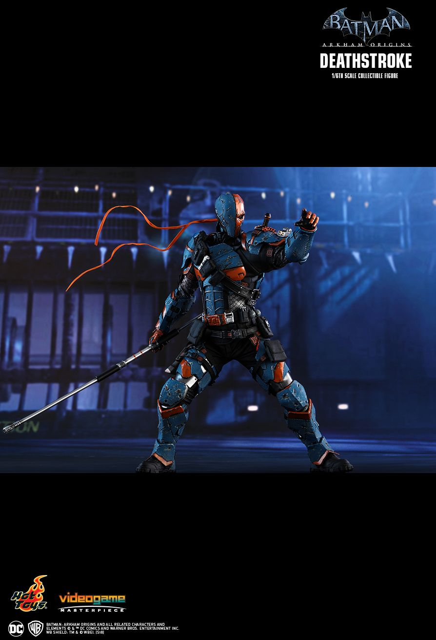 Batman - NEW PRODUCT: HOT TOYS: BATMAN: ARKHAM ORIGINS DEATHSTROKE 1/6TH SCALE COLLECTIBLE FIGURE 1126