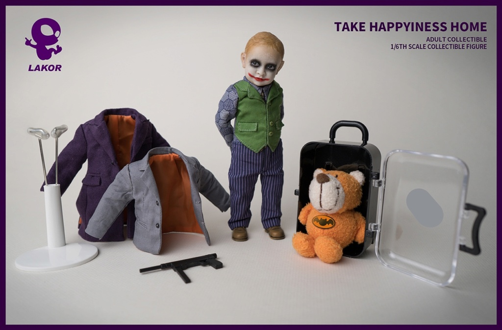 Joker - NEW PRODUCT: Lakor Baby: 1 / 6th scale Take Happiness Home - JOKER Baby 2.0 Collectible Figure 1129