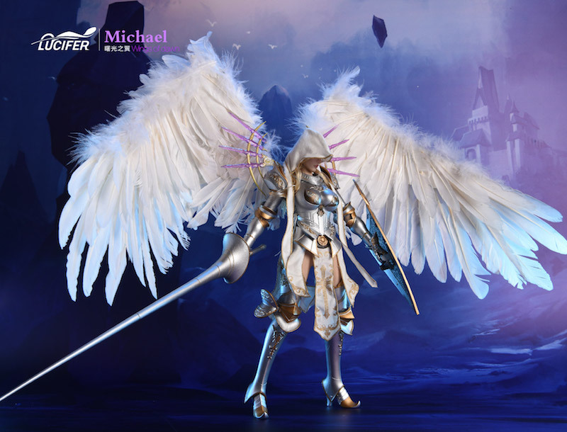 NEW PRODUCT: Lucifer Wings of Dawn Swordsman Version [LXF-1703S] & Big Angels Version [LXF-1703B] 1:6 Figure 1139