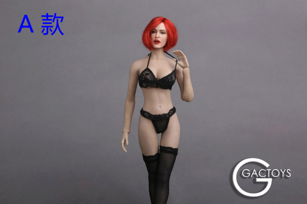 NEW PRODUCT: GACTOYS new; 1/6 European and American expression female head carving (#GC017) 116