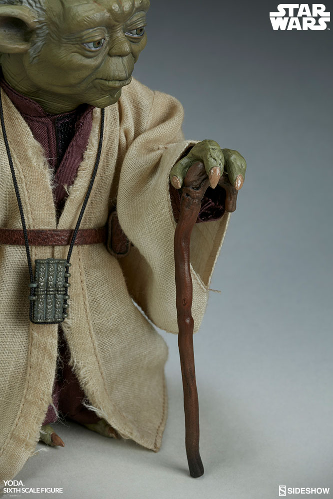 esb - NEW PRODUCT: SIDESHOW COLLECTIBLES: THE EMPIRE STRIKES BACK YODA 1/6 SCALE FIGURE 1183