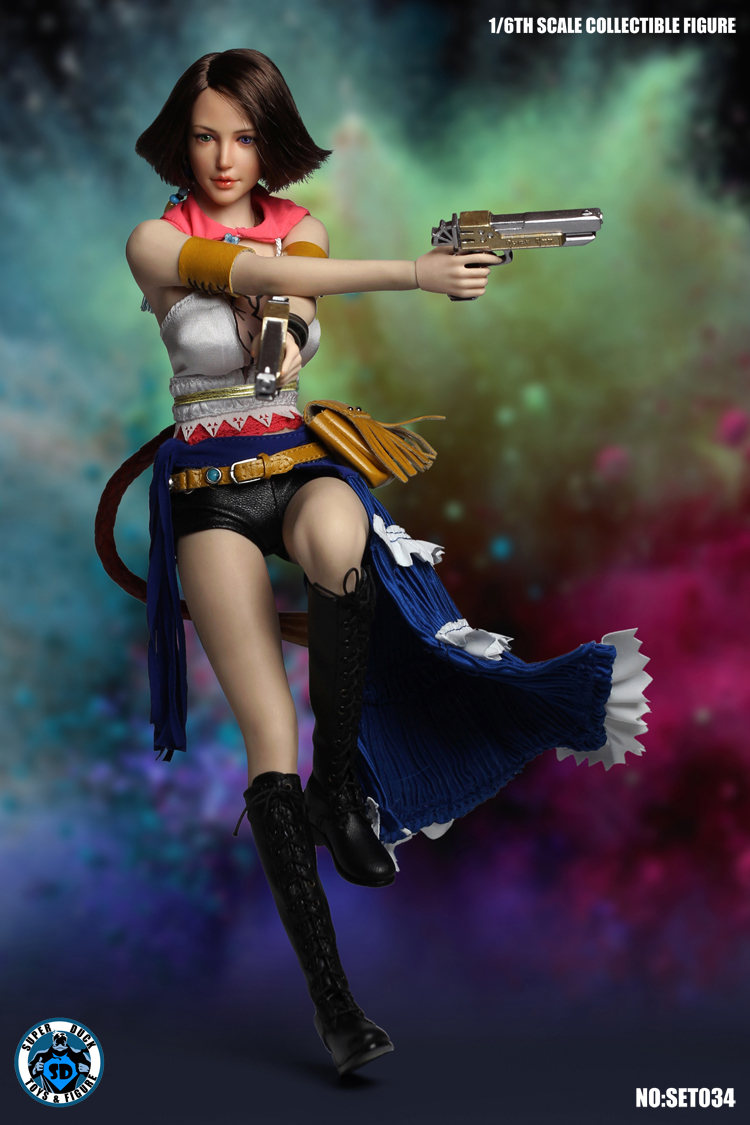 FinalFantasycosplay - NEW PRODUCT:  SUPER DUCK New: 1/6 Cosplay Series - SET034 Summoner 1207