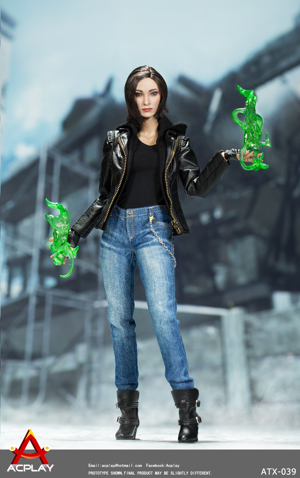 XMen - NEW PRODUCT: ACPlay new product: 1/6 ATX039 super hero magnetic girl box doll 1209