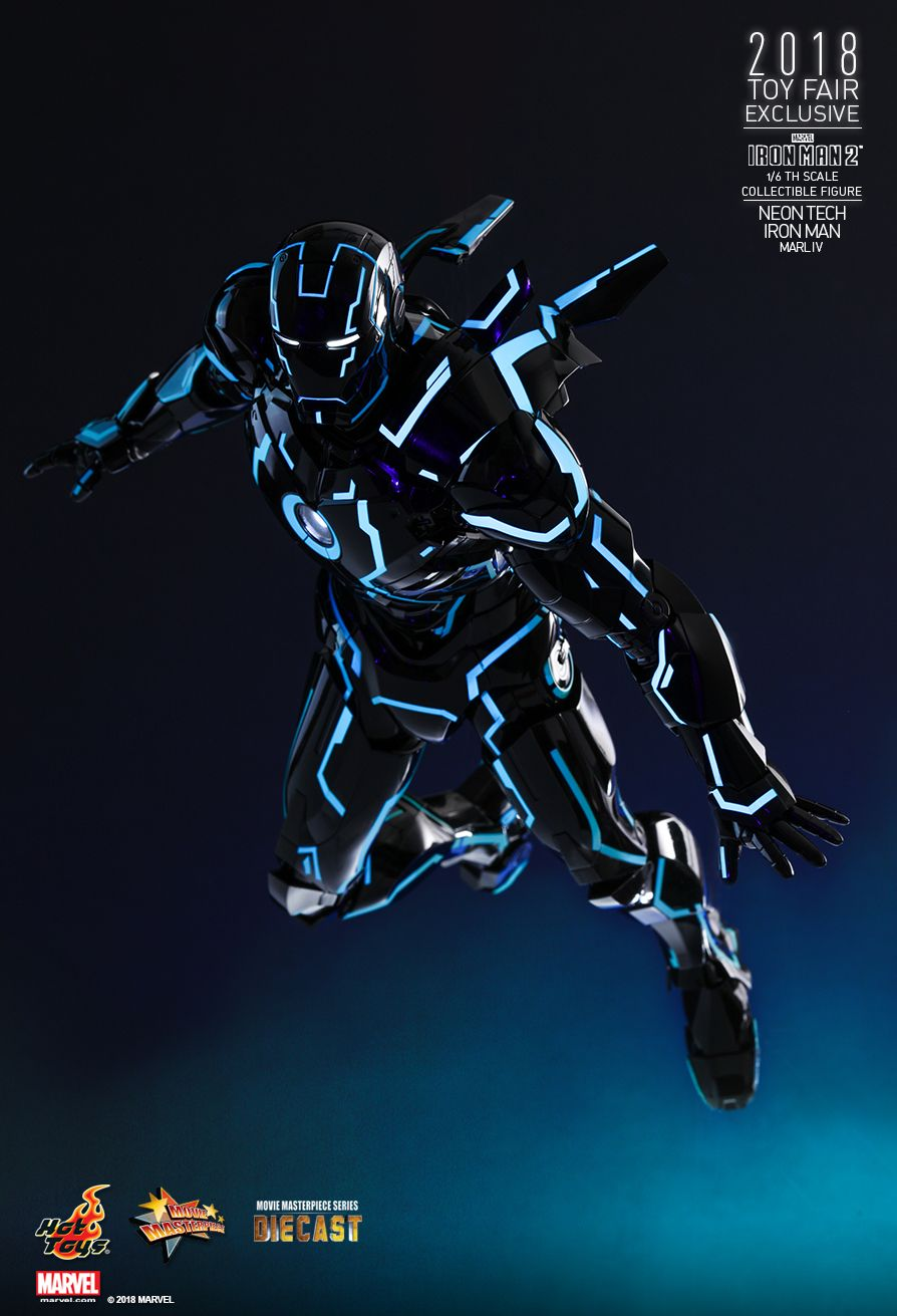 IronMan - NEW PRODUCT: IRON MAN 2 NEON TECH IRON MAN MARK IV 1/6TH SCALE COLLECTIBLE FIGURE 1222