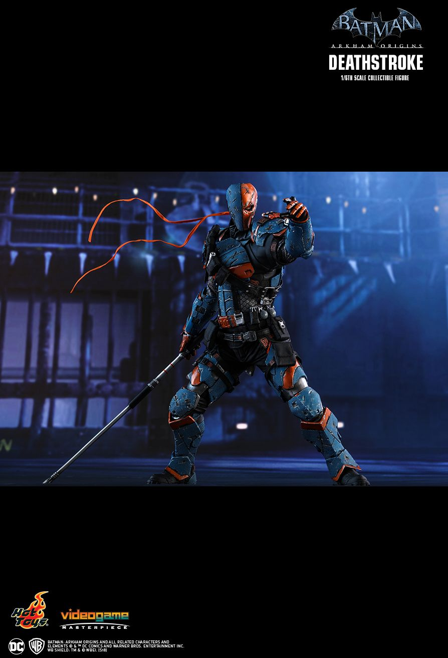Batman - NEW PRODUCT: HOT TOYS: BATMAN: ARKHAM ORIGINS DEATHSTROKE 1/6TH SCALE COLLECTIBLE FIGURE 1224