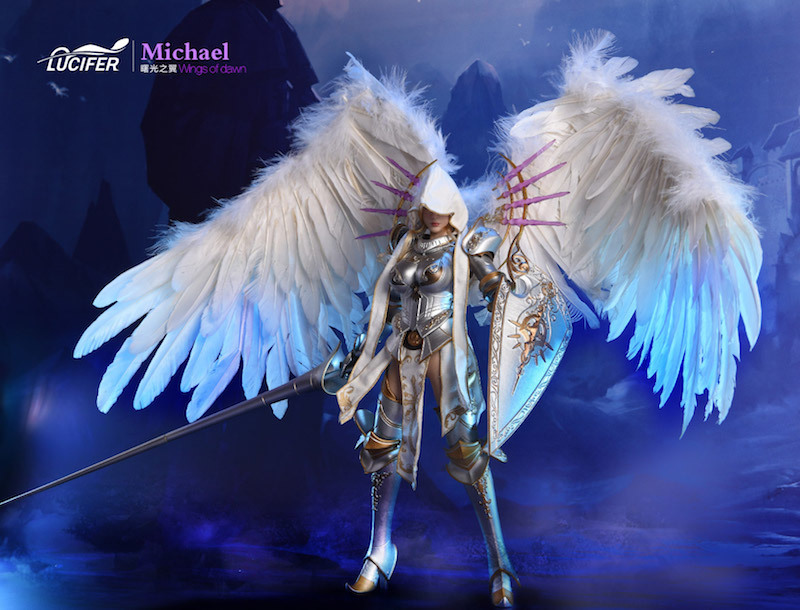 NEW PRODUCT: Lucifer Wings of Dawn Swordsman Version [LXF-1703S] & Big Angels Version [LXF-1703B] 1:6 Figure 1235