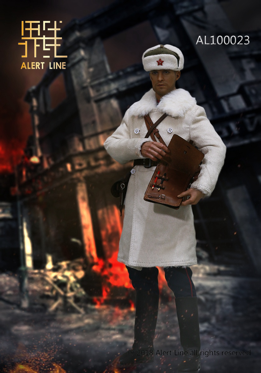 Soviet - NEW PRODUCT: Alert Line boundary play mode: 1/6 World War II 1942 - Soviet Red Army infantry lieutenant officer set (AL100023#) 1272