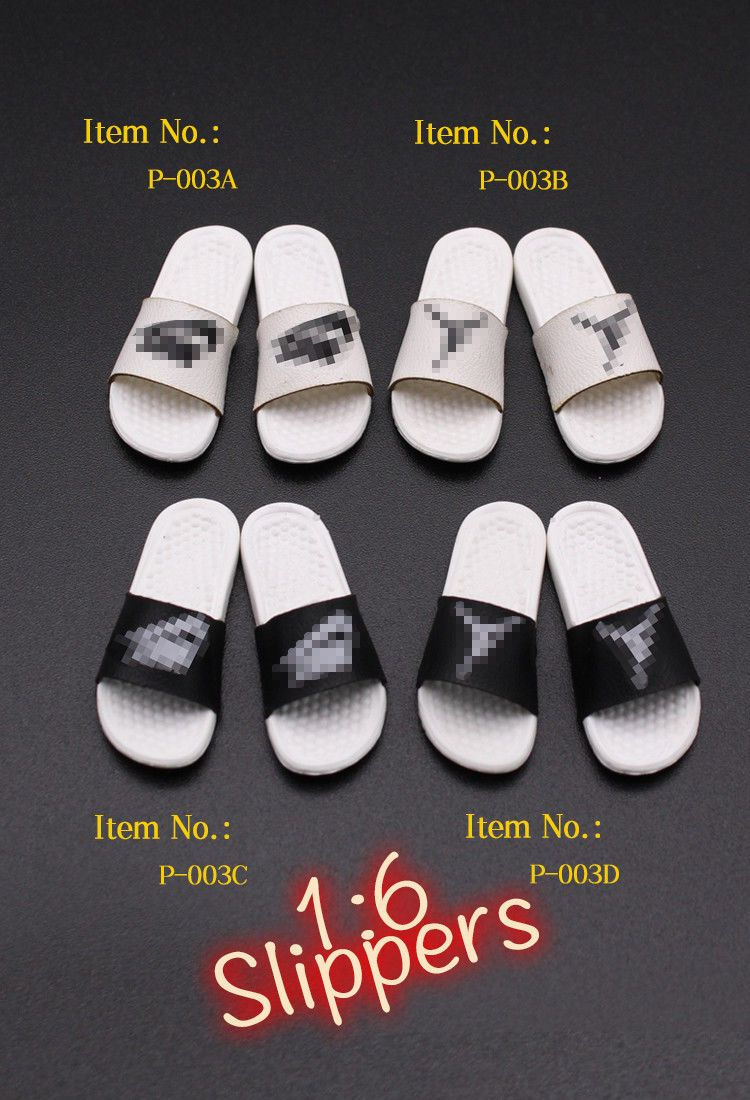 MiniTimes - NEW PRODUCT: Mini times Toys 1/6 scale Toy Slippers Accessories P-003A~H 1278