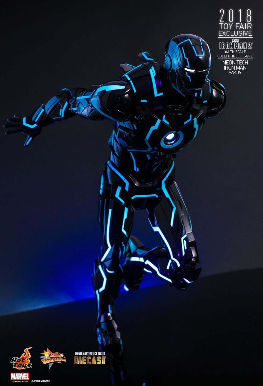 IronMan - NEW PRODUCT: IRON MAN 2 NEON TECH IRON MAN MARK IV 1/6TH SCALE COLLECTIBLE FIGURE 1322