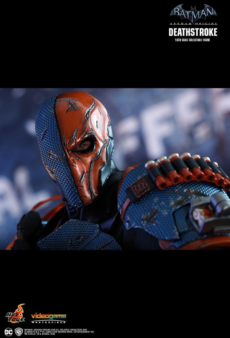 Batman - NEW PRODUCT: HOT TOYS: BATMAN: ARKHAM ORIGINS DEATHSTROKE 1/6TH SCALE COLLECTIBLE FIGURE 1324