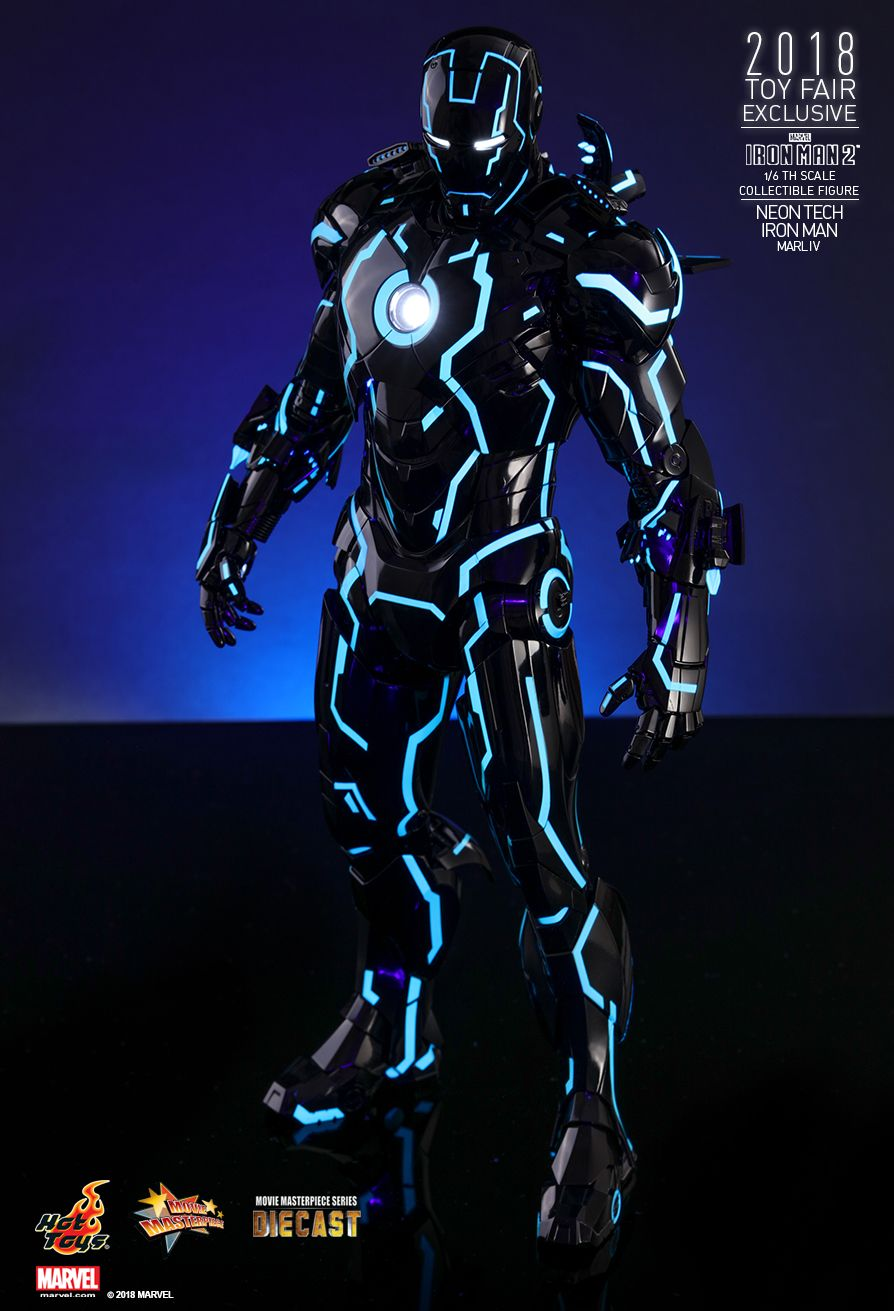 IronMan - NEW PRODUCT: IRON MAN 2 NEON TECH IRON MAN MARK IV 1/6TH SCALE COLLECTIBLE FIGURE 133