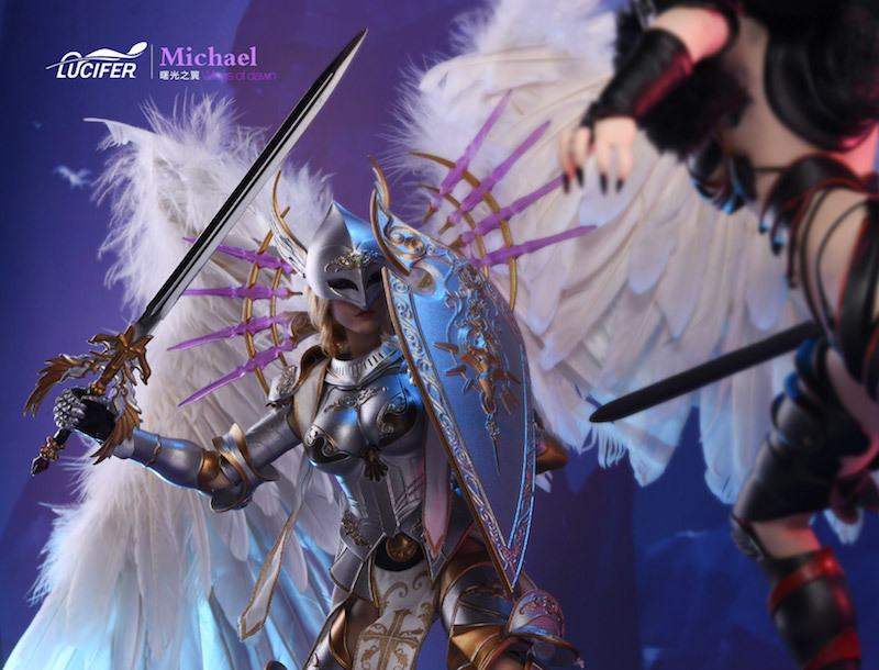 NEW PRODUCT: Lucifer Wings of Dawn Swordsman Version [LXF-1703S] & Big Angels Version [LXF-1703B] 1:6 Figure 1335