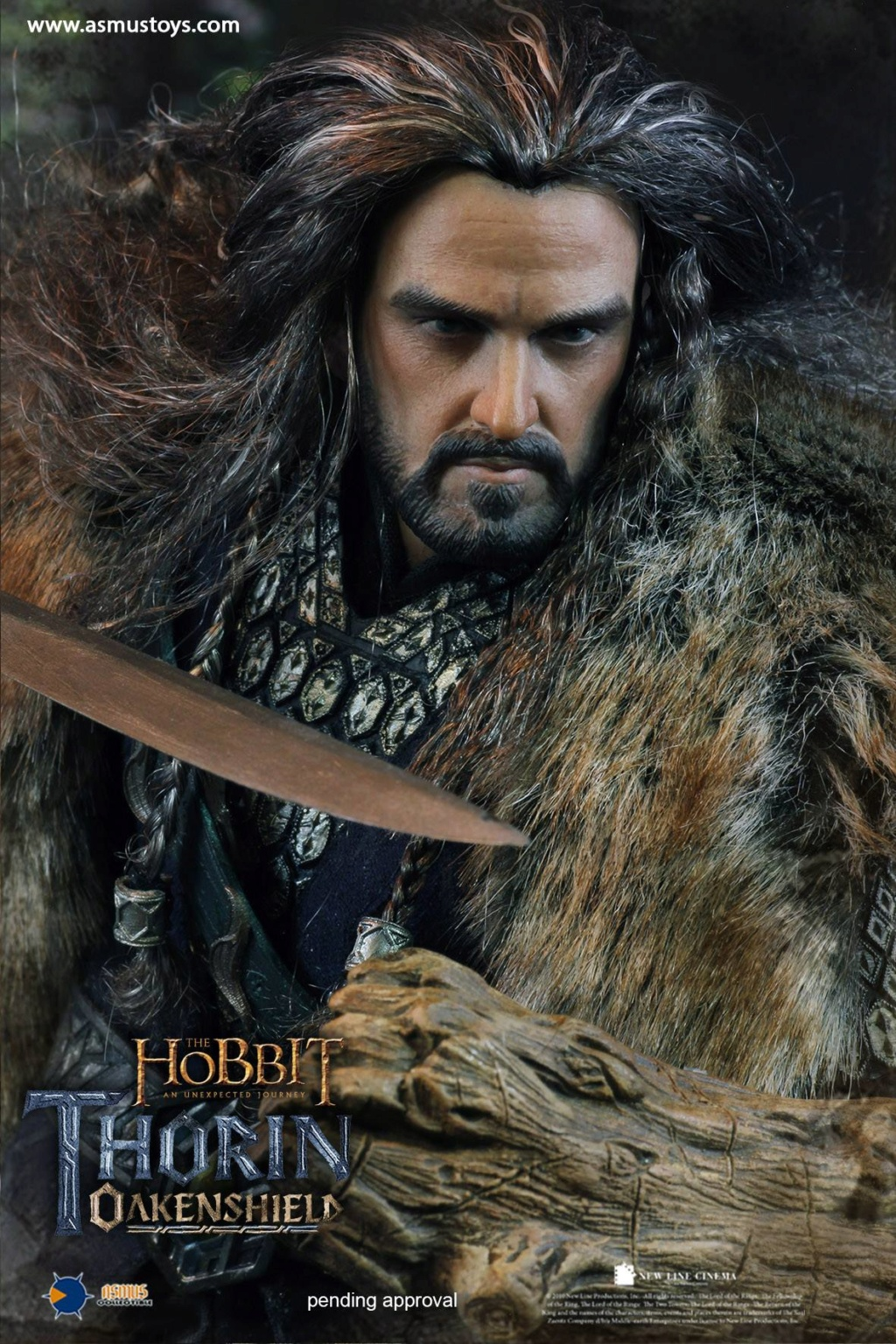 "asmus - NEW PRODUCT: Asmus Toys New: 1/6 ""Hobbit: Unexpected Journey"" - Thorin Oakenshield 13374710"